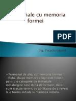 Materiale Cu Memoria Formei