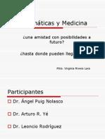 Matemáticas y Medicina.ppt