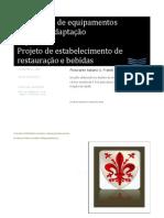 Manual de implantação de projeto restaurante lounge