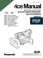 Panasonic+Ag-hvx200p an e Mc%2c+Ag-hvx202en+Parts%2c+Service+Manual