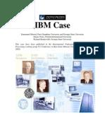 IBM Case