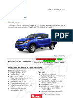 2. Mazda Bt50 2.2 Mt 4x4 d2 Full