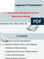 How quality can be measured?