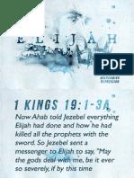 Elijah Week 4 - Notes