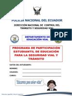 Manual Estudiantil de Seguridad Vial Full