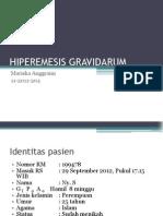 Hiperemesis Gravidarum Case