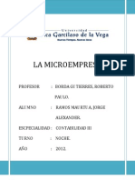 La Microempresa