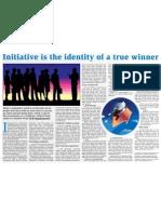 Initiative is the Identity of True Winner - Chandramowly