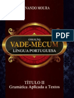 Vade Mecum Lingua Portugues FERNANDO MOURA Gramatica Aplicada a Textos 2012