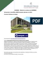 Informática de Concursos - Ministério da Justiça 2013 superior - www.informaticadeconcursos.com.br