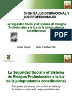 laseguridadsocialyelsistemaderiesgosprofesionales-100617164806-phpapp01