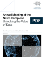 WEF AMNC12 IT UnlockingValueData SessionSummary