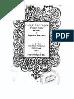 Peletier - L'Art poétique [ed. 1555]