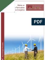 Master en Energias Renovables y Eficiencia Energetica