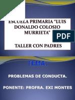 54732977 Taller Con Padres Conducta