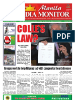 Manila Media Monitor -- APRIL 2009