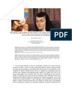 El romance decasílabo de Sor Juana y las zonas perdidas del sentido