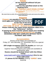 Correct Safari Ball Booking Form 2013