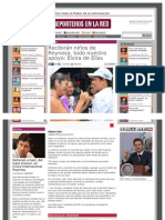08-06-2013 Recibirán niños de Reynosa, todo nuestro apoyo