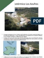 Campo geotérmico Los Azufres