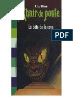 La Bete De La Cave - R.L. Stine.pdf