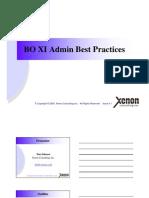 Xenon BOXIAdminBestPractices