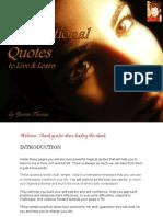 eBook 101 Inspirational Quotes