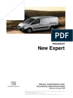 Peugeot Expert Prices and Specifications