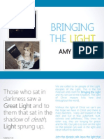 Amy Kemp Bringing the Light- Power Point