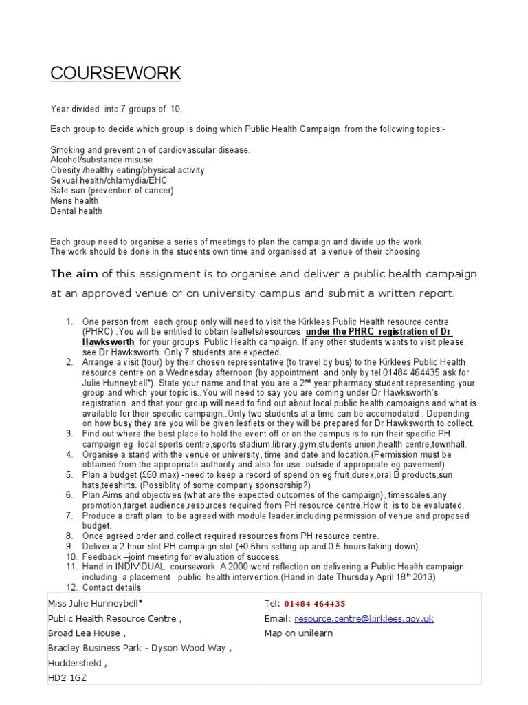 public health paper topics