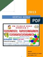 Kertas Kerja Bulan Matematik 2013