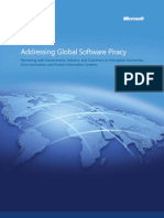 Addressing Global Software Piracy