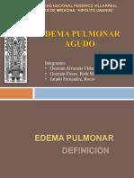 Edema Pulmonar Agudo