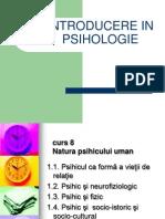 Introducere in psihologie cursuri facultatea de psihologie
