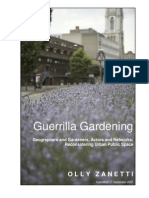 Guerilla Gardening Manual