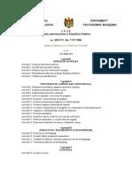 LEGE Codul Audiovizualului Al Republicii Moldova
