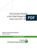The Economic Situation in the Polish Printing Industry
