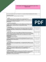 Beoordeling Tijdschrift Integraal Voldoende