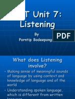 TKT Unit 7_Listening