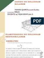 Clasificacion de Columnas Rectangulares