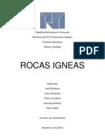 Las Rocas Igneas