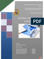 Sistemas y Proceso de Control