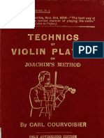 Technics of Violin Playing