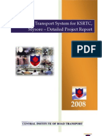 Mysore Intelligent Transport System for KSRTC