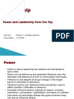 8. Power and Leadership From the Top