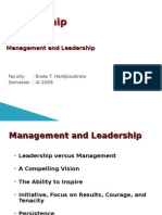 9. Management and Leadership
