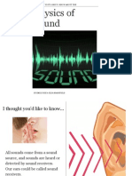 physics of sound ebook no video