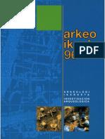 """Juan José Cepeda Ocampo, Ana Martínez Salcedo, Miguel Unzueta Portilla, """"Conjunto Arqueológico de Buradón"""", en Arkeoikuska 1997, Vitoria-Gasteiz, págs. 183-189."""