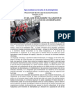 Lecciones de las huelgas económicas y la lucha de los desempleados
