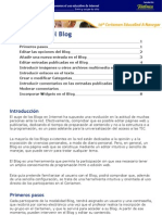 Manual de Uso Blog